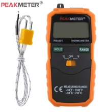PM6501 K-Type Digital Thermometer Wireless Temperature Meter Digital LCD Display with Thermocouple Probe Measuring Tools стоимость