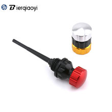 For Yamaha NMAX 155 Aerox 155 NVX 155 Motorcycle CNC Aluminum Aerox155 Oil Dipstick Engine Filter Plug For Honda PCX 150 125 for yamaha nvx 155 aerox 155 movistar 2017 footrest pedal motorcycle cnc aluminum alloy front rear footboard steps foot plate