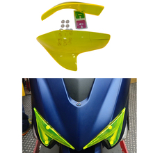 Motorcycle Headlight Screen Protector Cover Motorbikes ABS For YAMAHA TMAX530 TMAX 530 SX DX 2017 2018