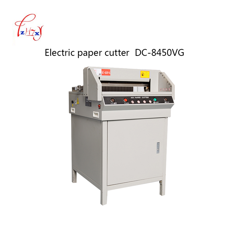 Heavy Duty Electric paper cutter digital automatic Cutter paper 450mm Paper Cutting Machine Paper Trimmer 1pc цена 2017