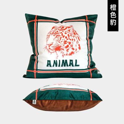 Sofa cushion cover pillowcase office lumbar velvet Cushion Cover Pillow Case