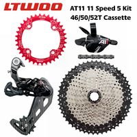 LTWOO AT11 Mountain Bike 11 Speed Transmission Kit Bicycle flywheel / chain Bicycle fingering Bicycle transmission accessories