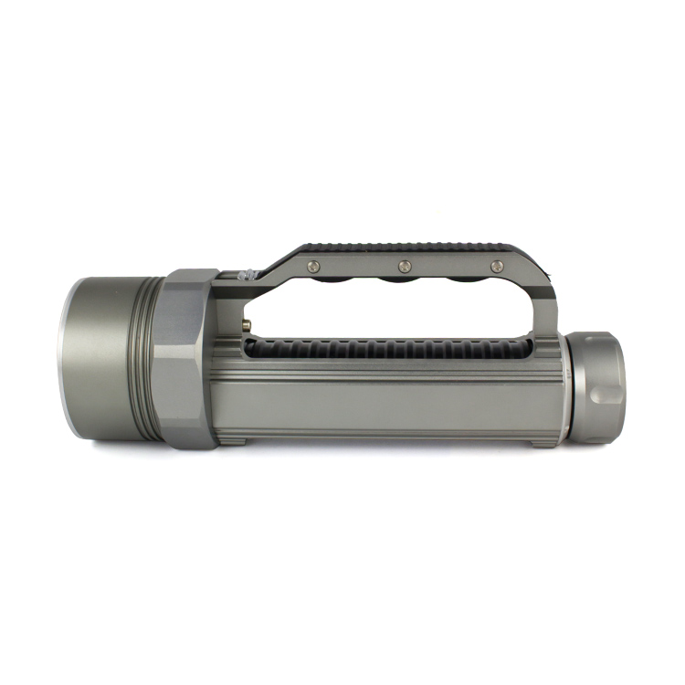 Haute luminosité XM L2 9000 Lumen 6X CREE XML L2 LED professionnel plongée linternas étanche lampe de poche pour 26650/32650 - 3