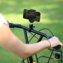 バイク自転車ハンドル三脚ボールヘッドアダプタマウントアルミ移動プロヒーロー 5 4 セッション/5 4 3 + 3 2 1 、 xiaoyi スポーツカメラ