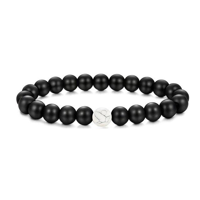 90faa35989 ... Beaded Couples Bracelet for Men Women Distance Crown Bracelets Set  Adjustable 8MM 1,74 €. SL018 Black Love. SL018 White Love