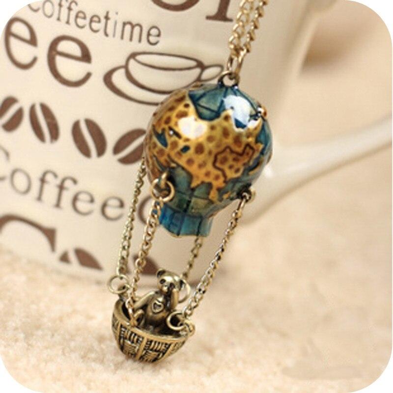 Lemon Value Fashion Statement Maxi Collier Bohemia Vintage Charms Panda Pendants Long Necklaces Women Jewelry Accessories A377