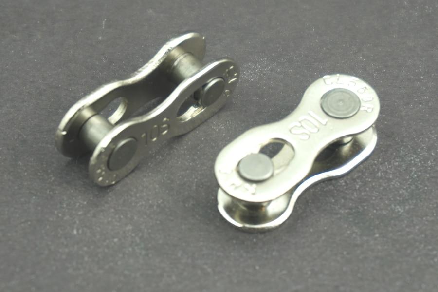 Hardware Ketten 5 Teile/los Fahrrad Bike Metall Kette Master Link Anschlüsse Reparatur Teile 1/2*1/8 Mountain Road Bike Fahrrad Kette Anschluss