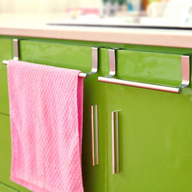 New Over Kitchen Cabinet Cupboard Draw Door Hand Towel Hook Hanger Holder