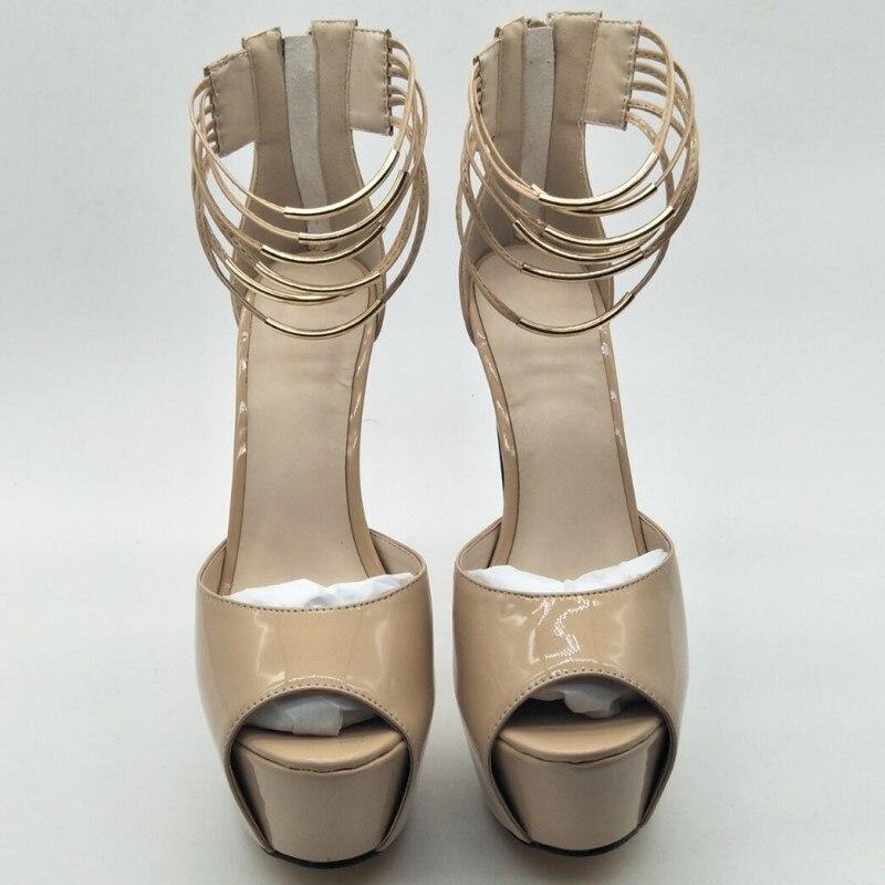 Hauts 16 Chaussures De Mode Sandales 45 À Livraison Gratuite Talons Taille Sandales Nouveauté 34 Beige Shofoo Cm Tissu 14 Cuir En Femmes Zxqd4vn