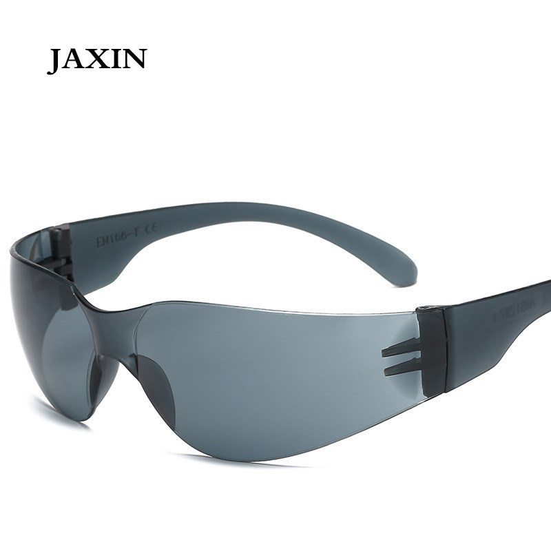 JAXIN oculosPersonality Sandproof Sunglasses Men  Outdoor Women Shockproof Driving Integrated Eyewear UV400