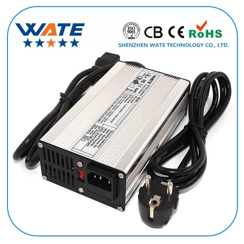 58.4V 4A Charger 48V LiFePO4 Battery Smart Charger Used for 16S 48V LiFePO4 Battery Input 90-265V Global Certification