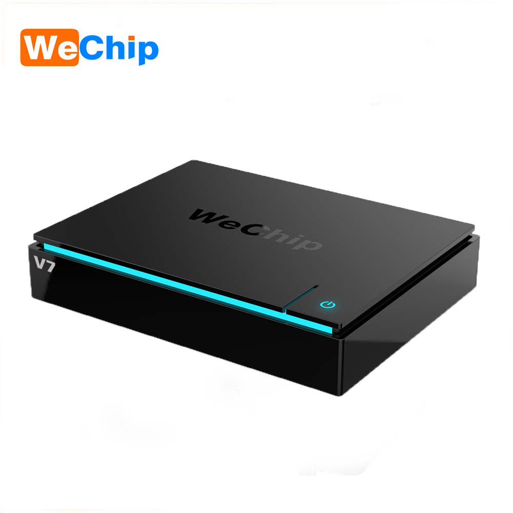 Wechip V7 Android 7,0 Tv Box S912 Восьмиядерный 3 ГБ 32 ГБ Двойной Wi-Fi 2,4 г + 5,0 г с Bluetooth 1000LAN 1080 P Media Player PK H96 PRO +