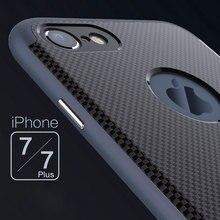 МОДА НОВЫЙ Роскошный статус металла телефон случаях Для apple iPhone 7 плюс Чехол Ультра Тонкий Скраб Роскошь металла Для iPhone 7 Случае охватывает