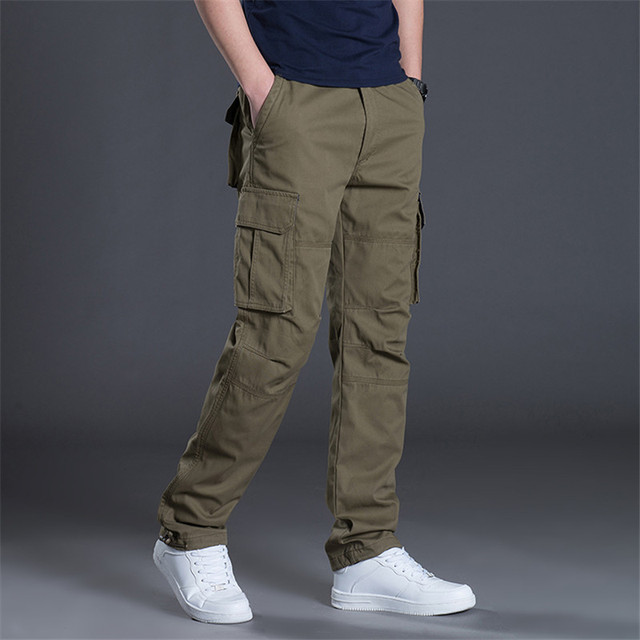 Pants Cotton Spring Men's Warrior Special Police Uniform Casual Pants Stretch Fighting Pants Streetwear