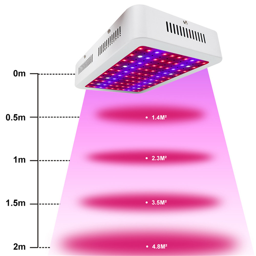 Plants Grow LED Light 1000W Full Spectrum For Greenhouse Grow Tent Plants Seedling And Flower Plants Phyto Lamp