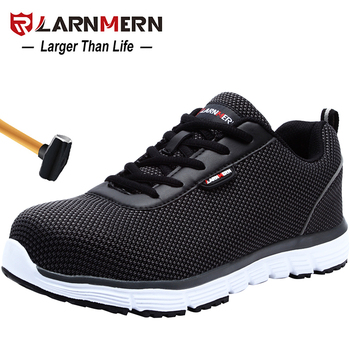 LARNMERN Men's Safety Work Shoes