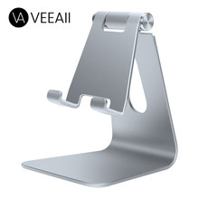 VEEAII Universal Mobile Phone Holders Stands Desktop for Iphone 11pro 7 8 IPad Huawei Desk Support Tablet Cell Stand for Samsung(China)