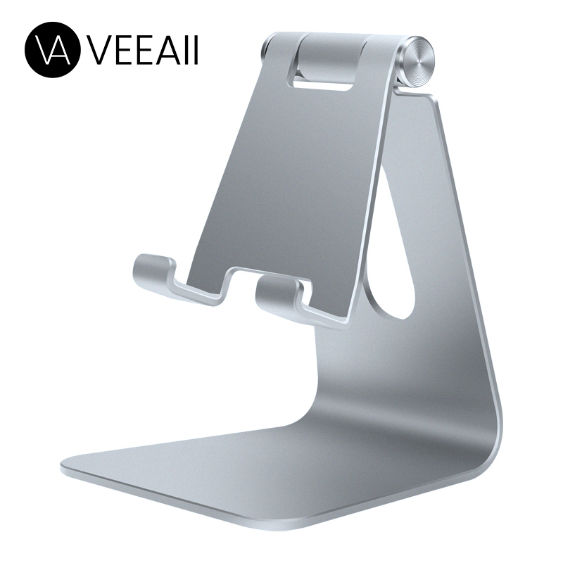 VEEAII Universal Mobile Phone Holders Stands Desktop For Iphone IPad Huawei Desk Support Tablet Cell Rotating Stand For Samsung