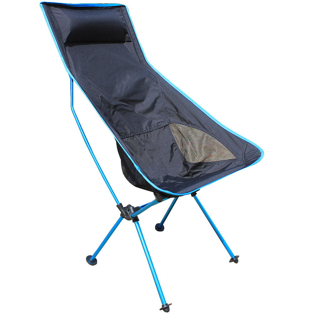 folding chair portable best ergonomic chairs australia outdoor lightweight moon aluminum alloy fishing stool sketching leisure