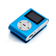 Free Ship High Quality MINI Clip Sport MP3 Player With Micro TF/SD Card Lithium Battery Slot Mini Music Player MP3 2016 New