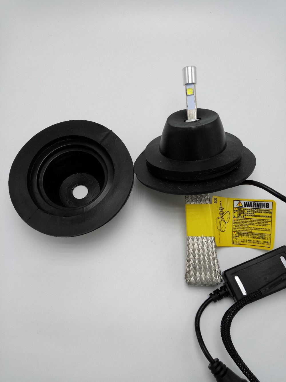 FSYLX HID LED faruri de etanșare capac de cauciuc impermeabil - Faruri auto - Fotografie 6