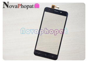 Image 3 - Novaphopat черный/золотой ЖК дисплей для Vertex Impress Luck ЖК экран + сенсорный экран дигитайзер Замена + отслеживание