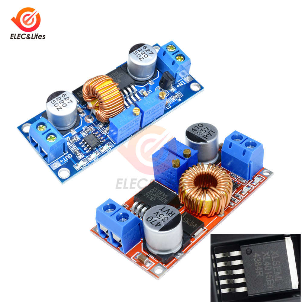 XL4015 5A DC-DC CC CV batterie au Lithium abaisseur carte de charge alimentation LED Buck convertisseur régulateur de tension Lipo chargeur Module