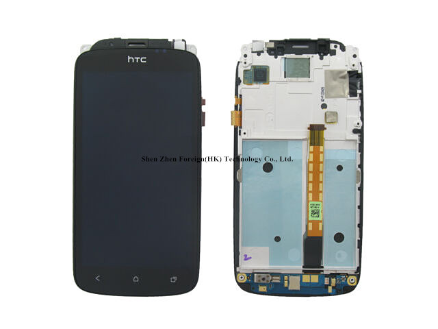 Original For htc ONE S Z520E LCD Display Screen Assembly Frame BlackOriginal For htc ONE S Z520E LCD Display Screen Assembly Frame Black