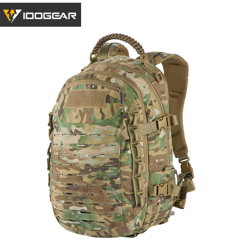IDOGEAR Tactical Backpack Dragon Bag Training Backpack Travelling Multi purpose Military Molle Outdoor Bags Multicam Sports