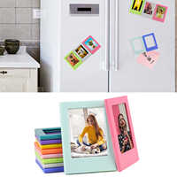 10PCS Assorted Colors Free Combination Magnetic Photo Picture Frames for Fujifilm Instax Mini 8 8+ 9 Instant Camera Films