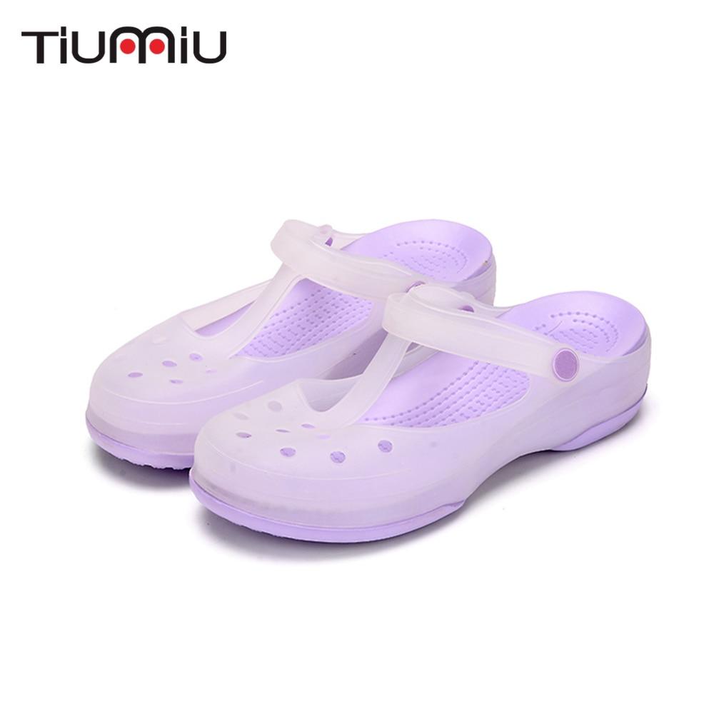 2019 Nurse Hole Shoes Medical Shoes Summer Women Female Hospital Comfortable Soft Bottom Anti-Slip Doctor Nurse Shoes Work Shoes