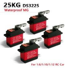 4XDS3225 업데이트 서보 25kg 풀 메탈 기어 디지털 서보 바하 서보 바하 자동차 용 방수 서보 + 무료 배송