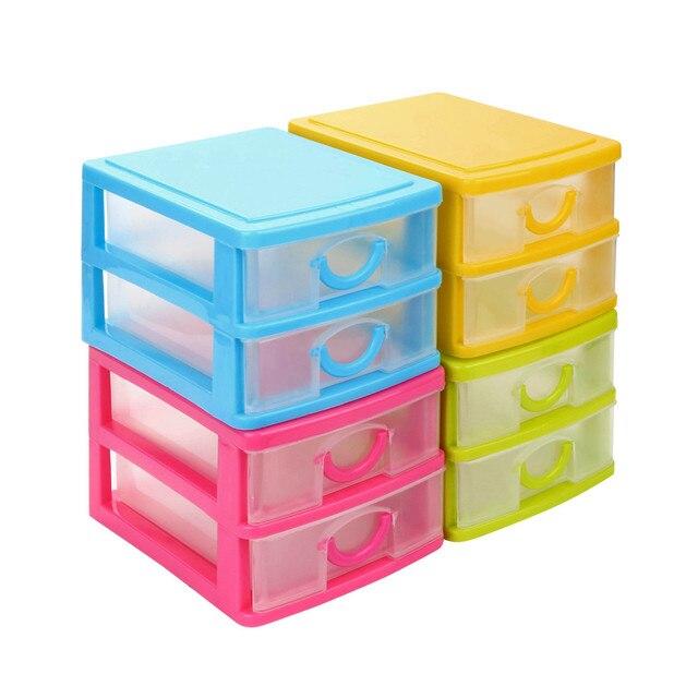 Oggetti In Plastica Per La Casa.Nuovo Durevole Di Plastica Mini Desktop Di Articoli Vari Cassetto