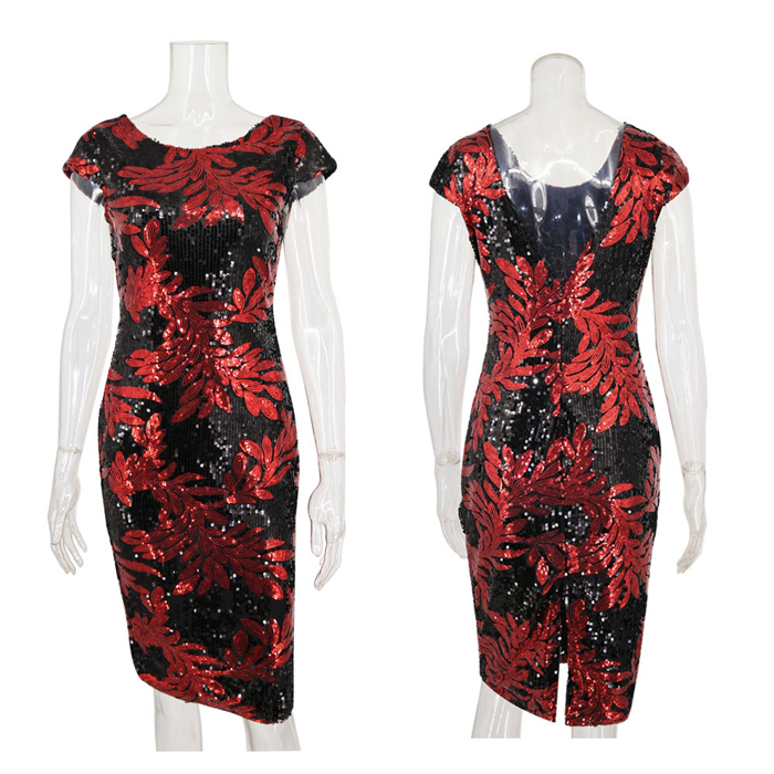 Great Gatsby Flapper Dress Sequins 3