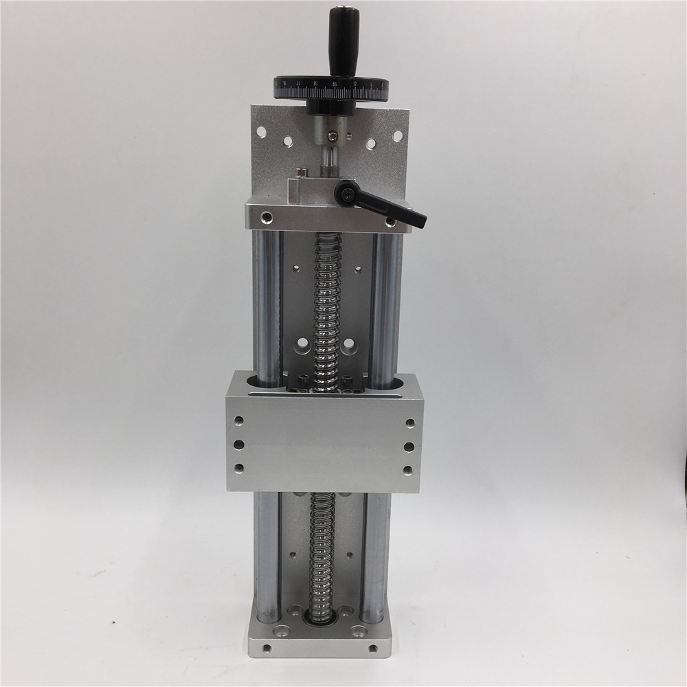 Linear Guide C7 Manual Sliding Table Cross Slide SFU1605 Ballscrew CNC Machine