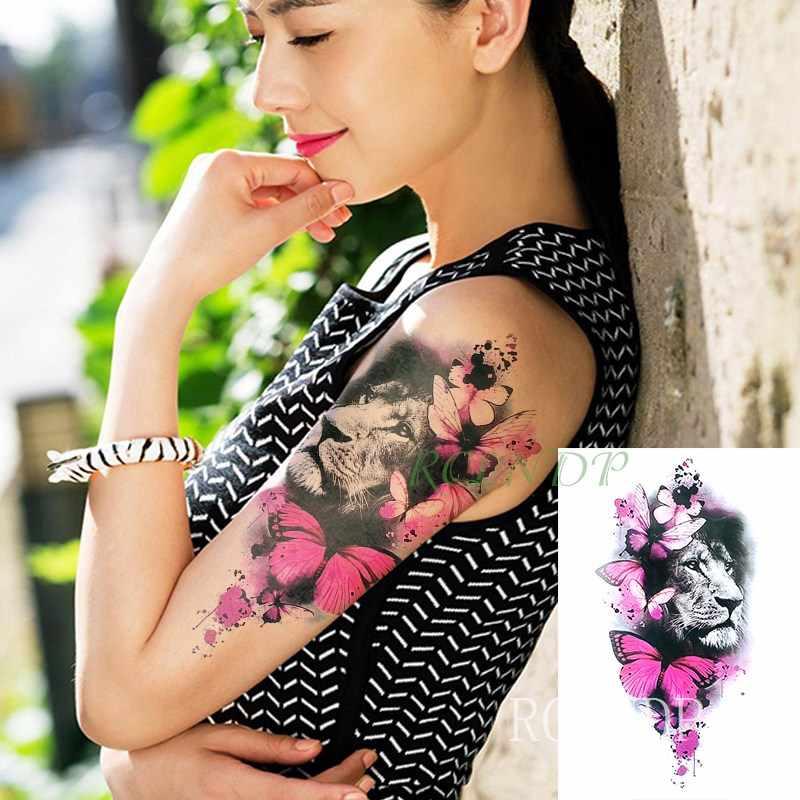 6cd1ea90d5dcd ... Waterproof Temporary Tattoo Sticker on body back big crown tatto stickers  flash tatoo fake tattoos for