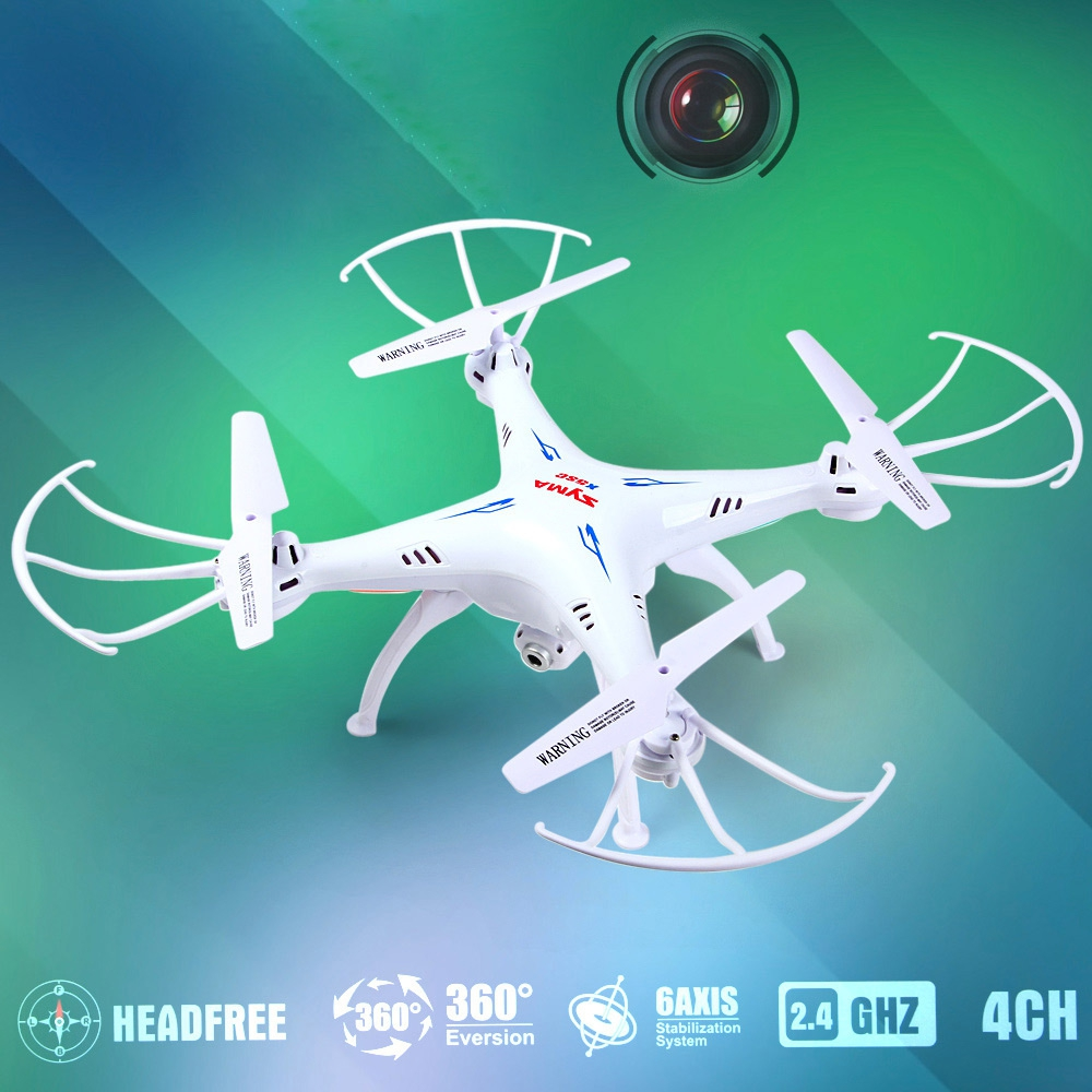 Original Syma X5SC Drone New Version 4CH 2.4GHz 6 Axis RTF RC Toys Quadcopter With HD Camera 360 Degree Remote Control RC DronOriginal Syma X5SC Drone New Version 4CH 2.4GHz 6 Axis RTF RC Toys Quadcopter With HD Camera 360 Degree Remote Control RC Dron