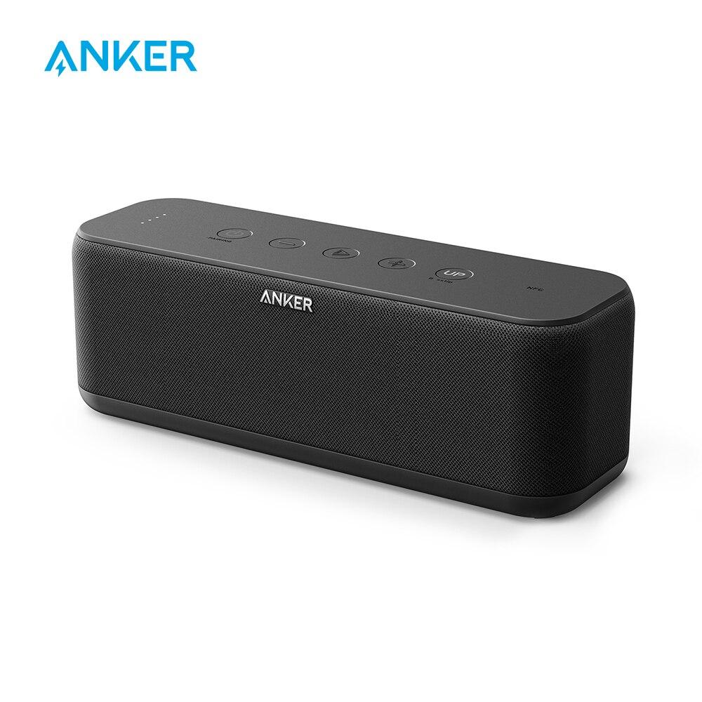 Anker SoundCore Boost 20 Вт динамик Bluetooth с BassUp технологии 12 h игр IPX5 Водонепроницаемость 66ft Bluetooth Диапазон