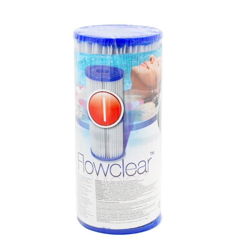 Egoes Bestway Type I Pool Filter Cartridge 58093 مناسبة لـ 330 جالون Bestway Filter Pump
