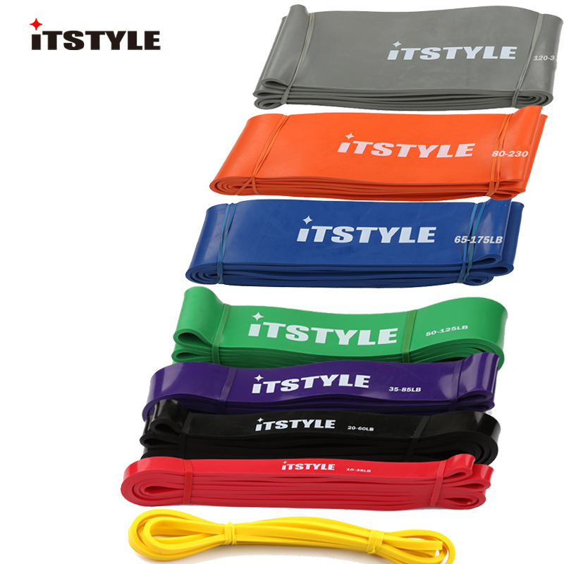 ITSTYLE Strap Expander Loop-Band Muscles-Rope Latex Pull-Up Power-Rubber Strengthen Crossfit title=