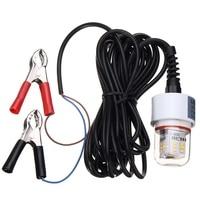 2835SMD LED Lamp Bulb 15W 12V Underwater Fishing Squid Fish Lure Light IP68 Waterproof LED Fishing