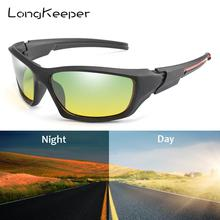 Unisex Day Night Driver Sunglasses Vision Polarized Glasses Anti-glare Women Men Sport Goggles Gafas de sol