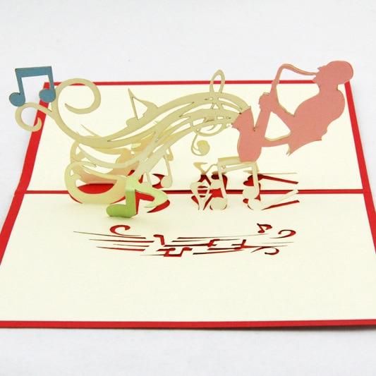 Qubiclife Music Symbol Creative Gift Three Dimensional 3d Birthday