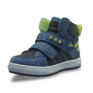 Image 2 - Apakowa Autumn Childrens Shoes Pu leather Boys Shoes 2017 Solid Ankle Boots with Rivet Toddler Kids Sport Shoes for Boys