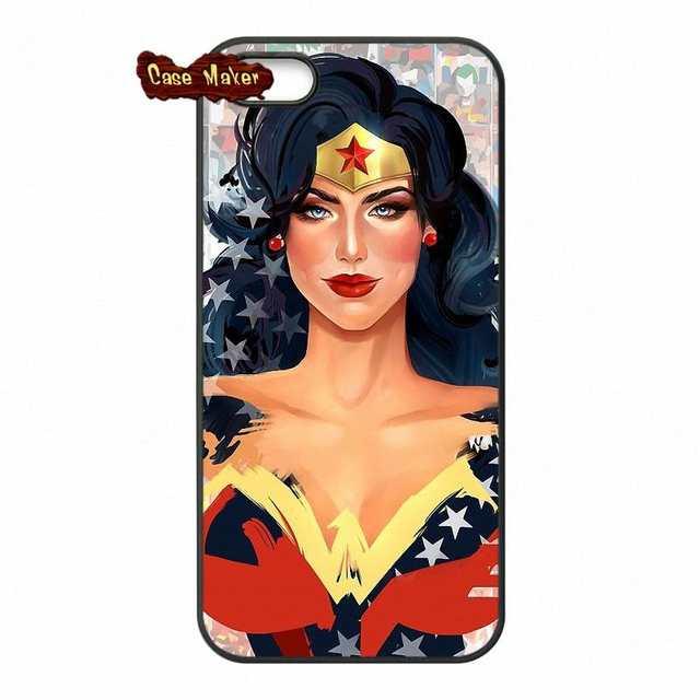 wonder woman sexy retro pop art iphone case