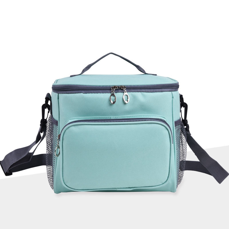 Portable Lunch Bag Adults Kids Oxford Lunchbox Thermal Food Insulated Cooler Bags Outdoor Picnic Totes Container Handbag FP8