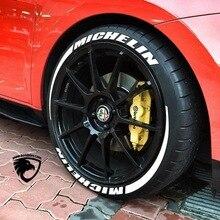 Тюнинг автомобиля Универсальный 3D логотип шин наклейка для колес авто мотоцикл Стайлинг на заказ забавное Спортивное украшение Наклейки