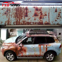2015 Newest Rust Bomb vinyl film for car decoration with air free bubbles 1.52*30m per roll