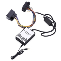 Car MP3 Interface USB / SD Data Cable Audio Digital CD Changer Support USB flash SD Card 3.5mm Jack Input for BMW / Mini / Rover