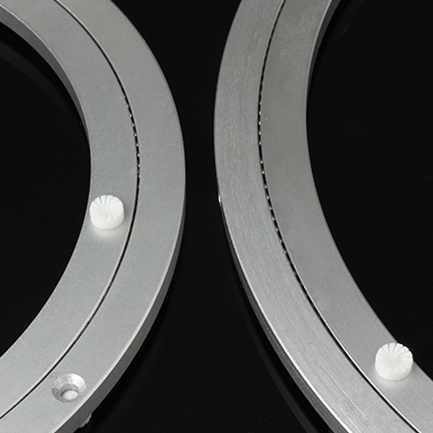 2 шт. 8 дюймов 20 см малый поворотный механизм пластина из алюминиевого сплава материал для кухонной мебели вращающийся поднос для приправ обеденный стол